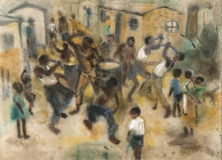 Ephraim Ngatane; Dancing in the Township