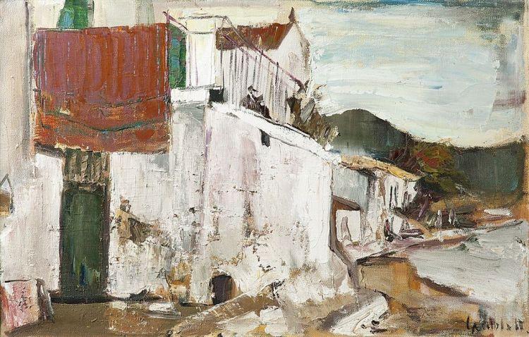 Sidney Goldblatt; A Seaside Village