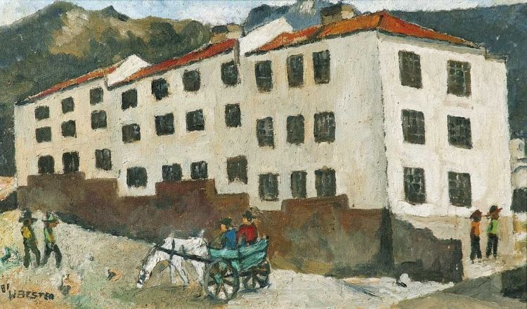 Willie Bester; Bloemhof Flats, District Six