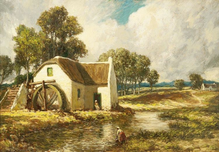 Edward Roworth; The Old Mill