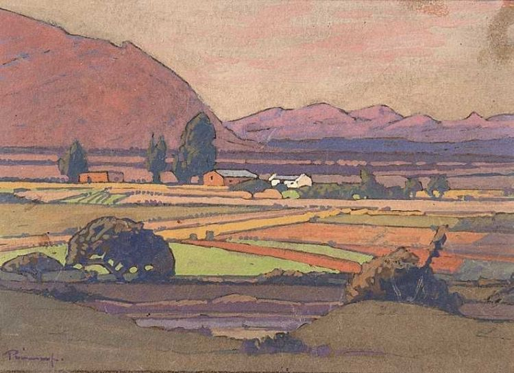 Jacob Hendrik Pierneef; The Magaliesberg