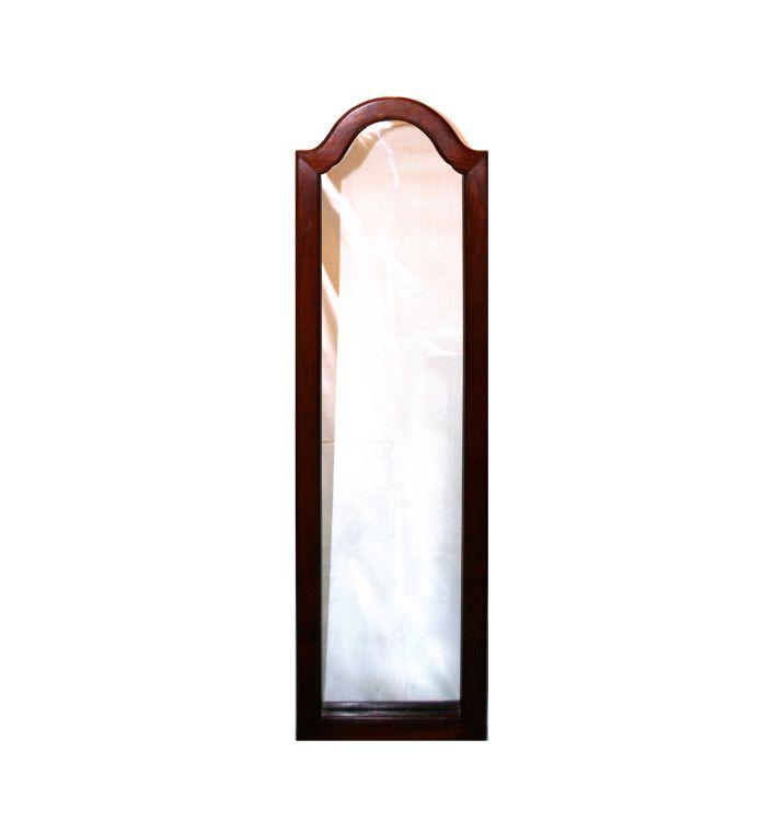 A teak mirror, 20th century