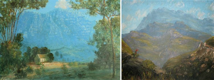 South African School 20th Century; Landscape