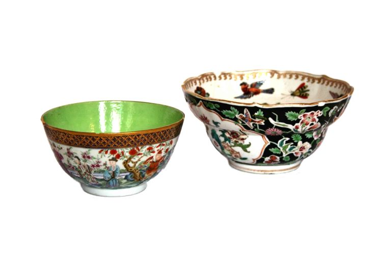 A Chinese Famille-Rose bowl, Qianlong (1735-1796)
