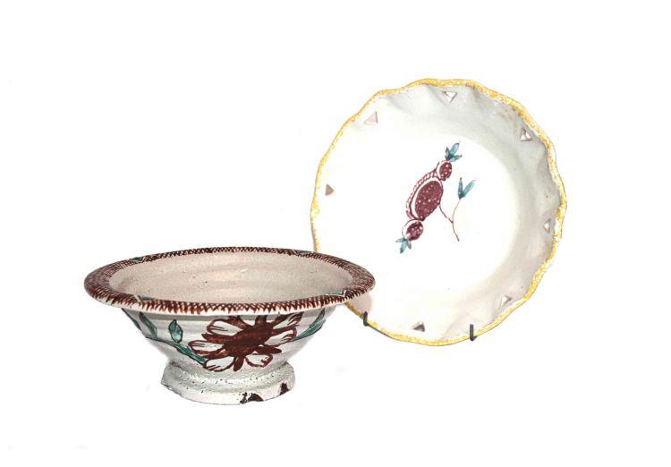 A Hylton Nel stoneware bowl, signed