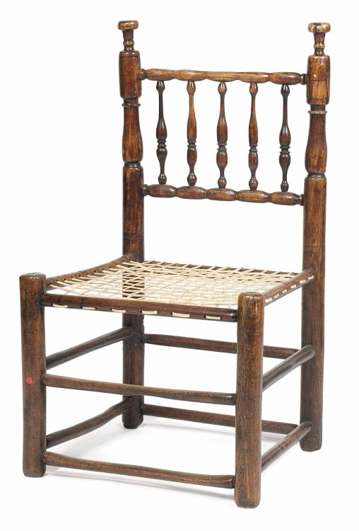A Cape stinkwood tolletjie chair, early 19th century