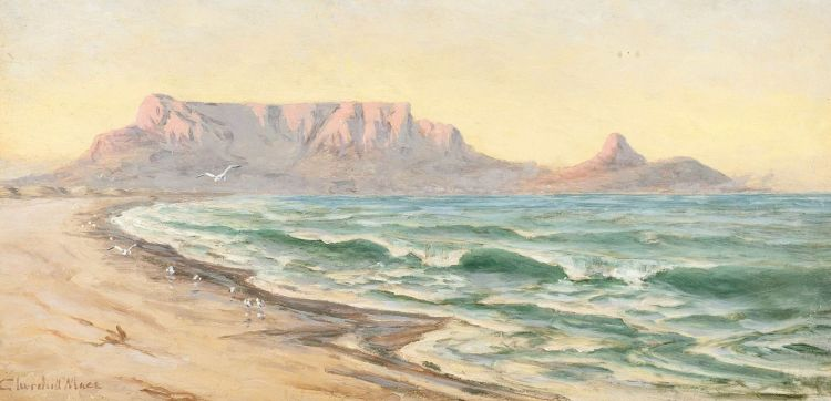 Edward Clark Churchill Mace; Table Mountain from Milnerton