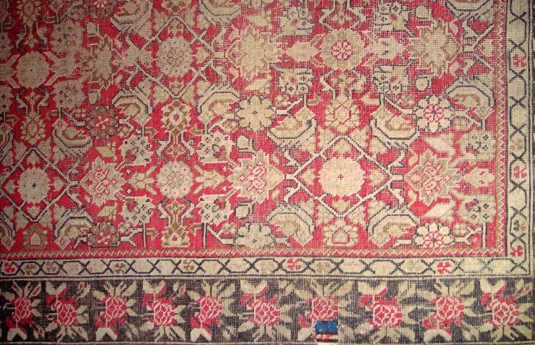 A Karabagh rug, South Caucasia, 1900