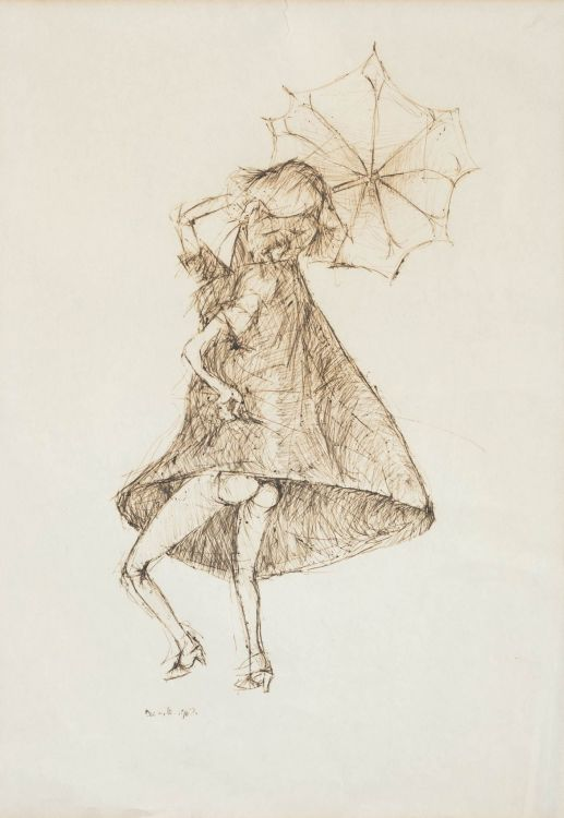 Dumile Feni; The Umbrella Dance