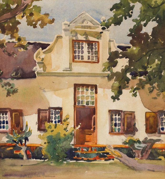 Walter Battiss; La Provence