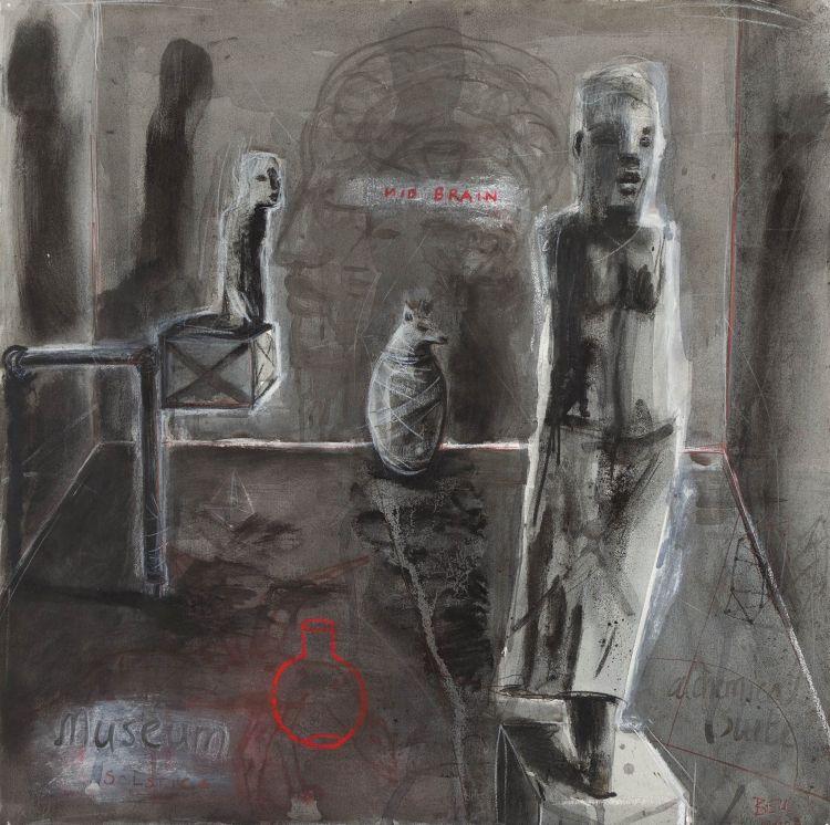 Deborah Bell; Museum Solstice (From the Alchemical Suite)