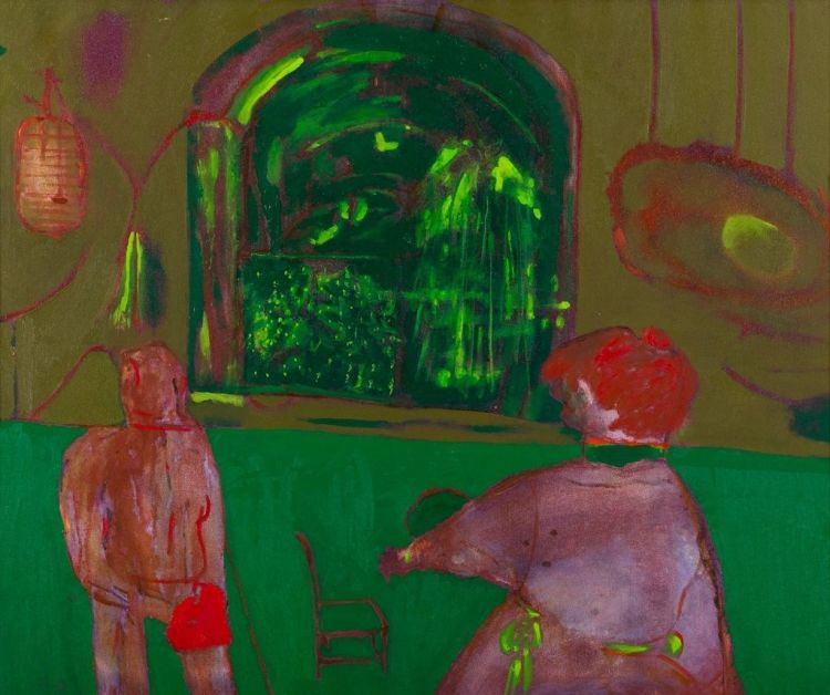Robert Hodgins; In the Conservatory
