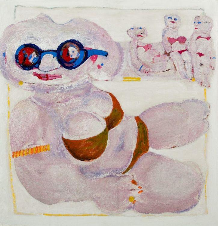 Robert Hodgins; Any Summer, Any Beach