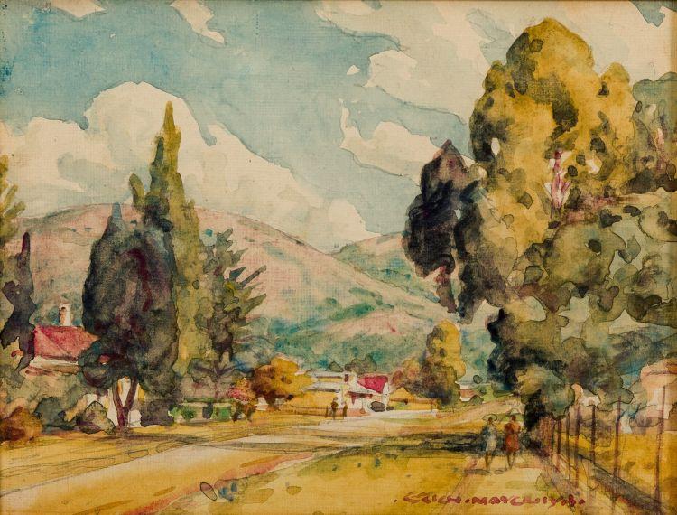 Erich Mayer; An Afternoon Stroll