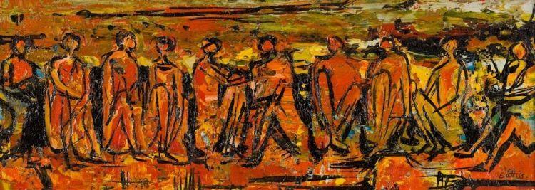 Walter Battiss; Fireside Figures