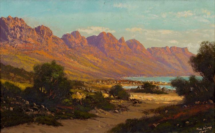 Tinus de Jongh; Twelve Apostles Camps Bay Cape