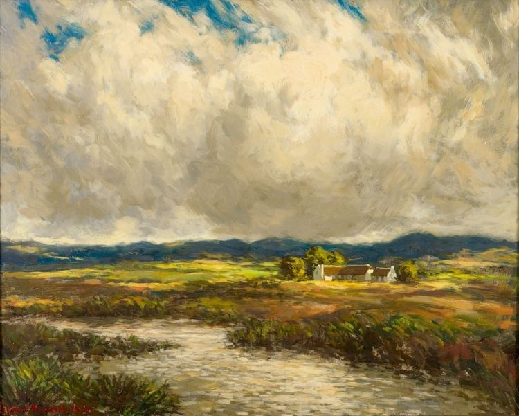 Edward Roworth; The Nieuw Jaars River, near Elim (sic)