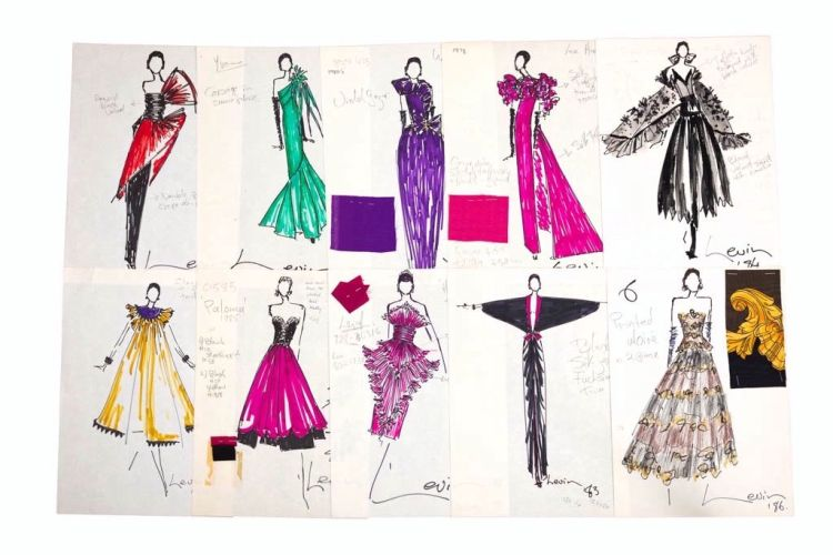 A collection of various designs from the 1980s