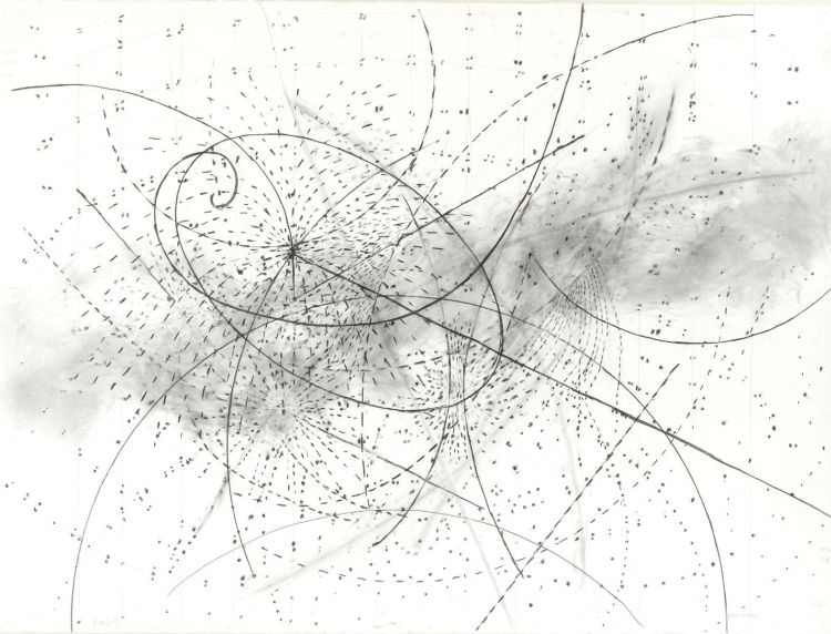 William Kentridge; Drawing from 'Preparing the Flute', (Queen of the Night)