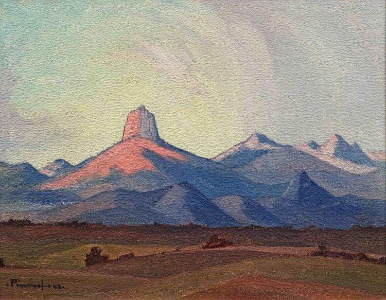 Jacob Hendrik Pierneef; By Nelspruit, Oos Transvaal