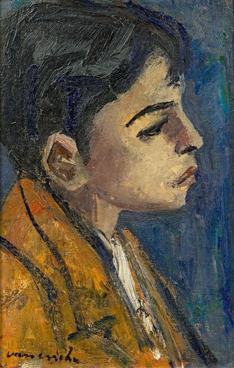 Maurice van Essche; Portrait of a Boy