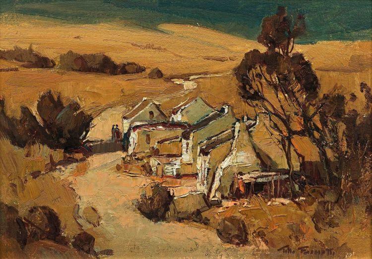 Titta Fasciotti; Houses Along the Roadside