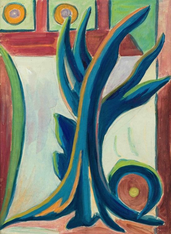 Maggie Laubser; Composition of Leaves