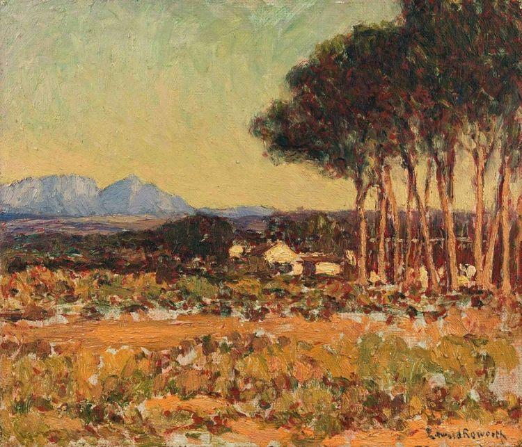 Edward Roworth; Cape Landscape