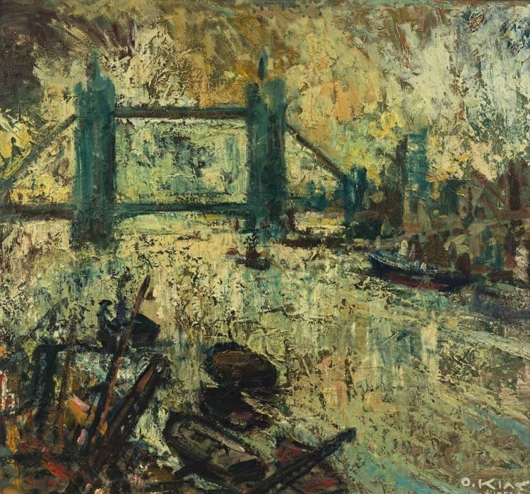 Otto Klar; Tower Bridge, London
