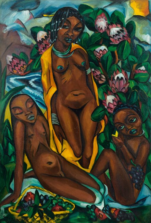 Irma Stern; Composition