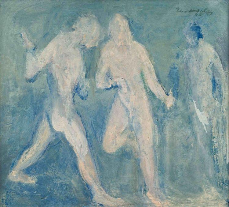 Jean Welz; Three Nudes