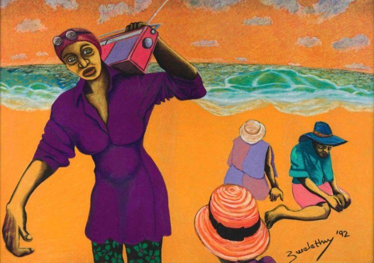 Zwelethu Mthethwa; On the Beach