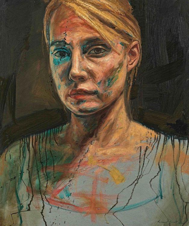 Lionel Smit; Portrait of a Woman