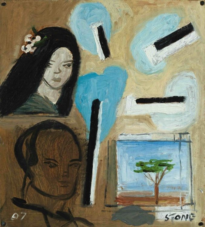 Simon Stone; Flower in Hair