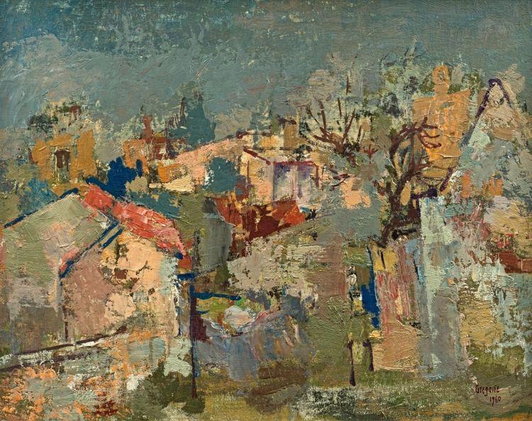 Gregoire Boonzaier; Rooftops, District Six