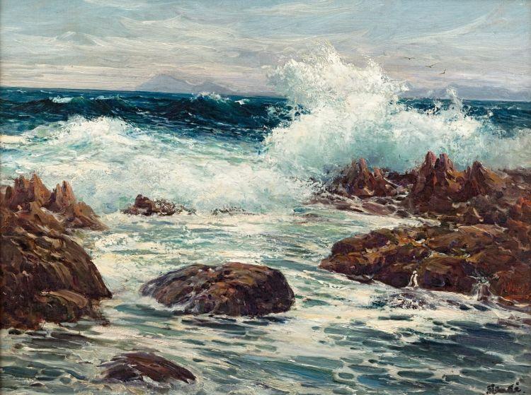 Hugo Naudé; Seascape