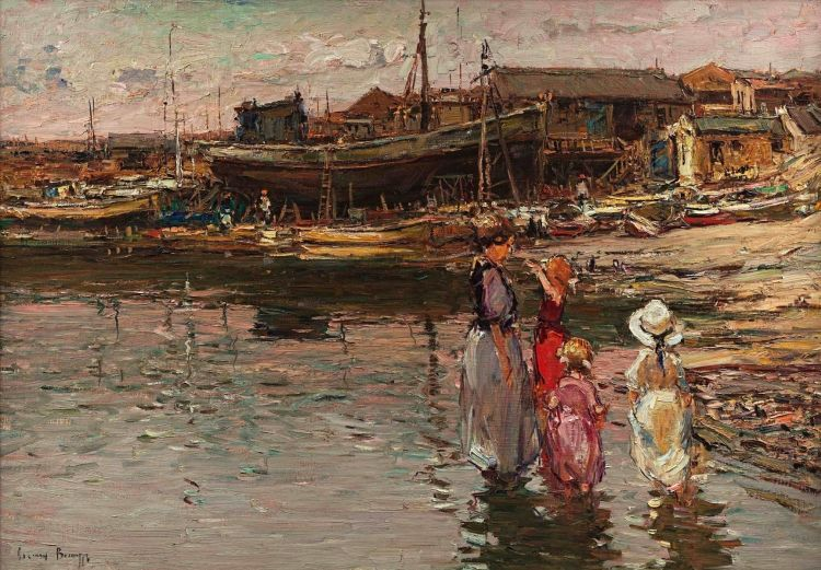 Adriaan Boshoff; The Boatyard, Lamberts Bay