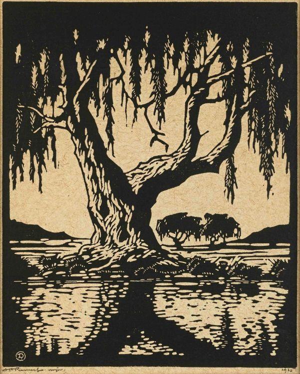 Jacob Hendrik Pierneef; Wilgerboom in die Somer (Nilant 79)