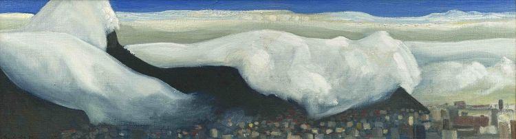 Erik Laubscher; Clouds over Lion's Head