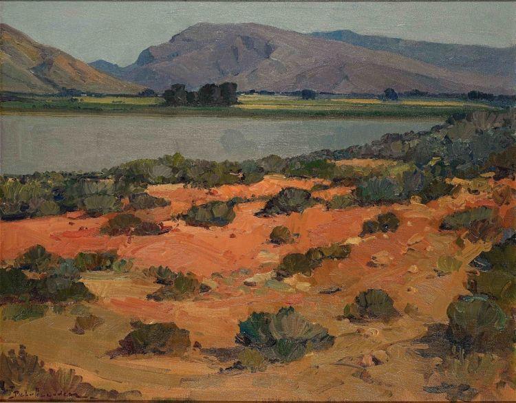Piet van Heerden; Western Province Landscape