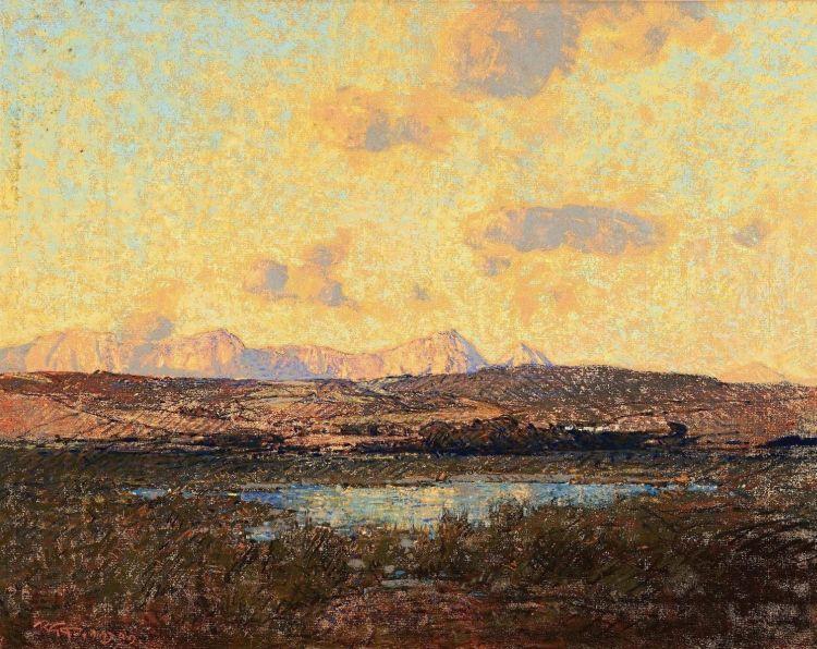 Robert Gwelo Goodman; Distant Mountains, Wemmershoek