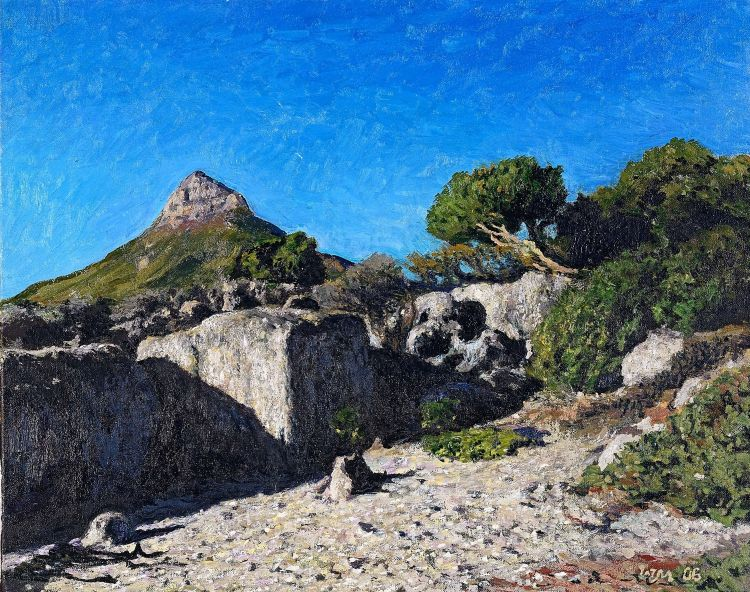 Walter Meyer; Lion's Head from Camps Bay