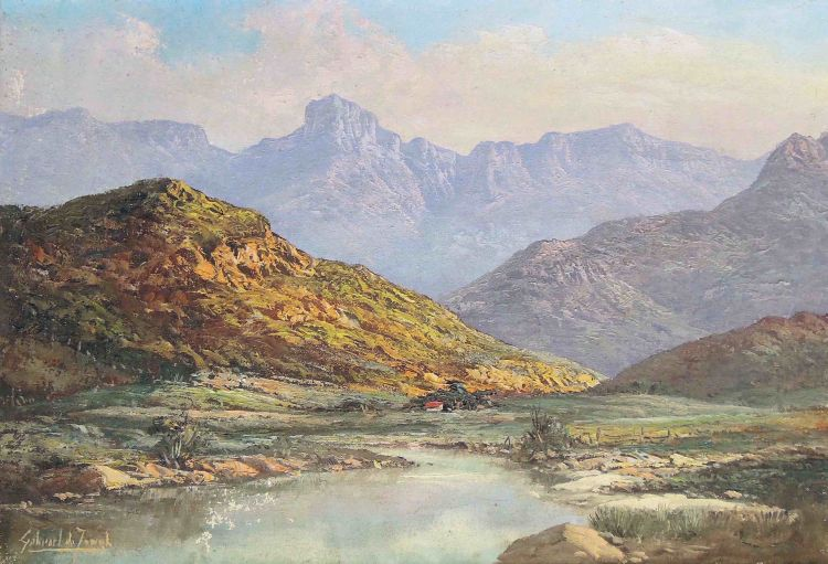 Gabriel de Jongh; Near De Doorns, Cape
