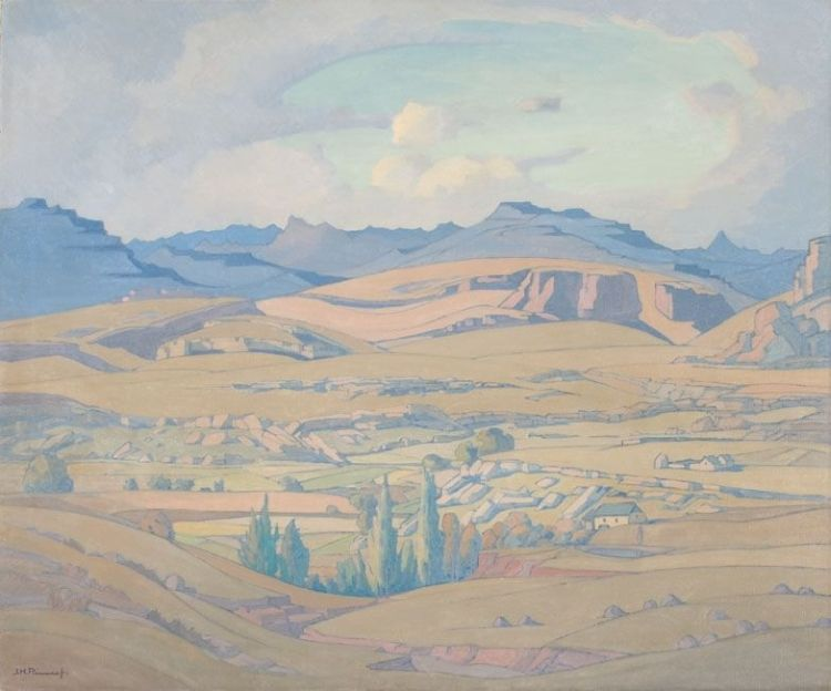 Jacob Hendrik Pierneef; The Golden Gate