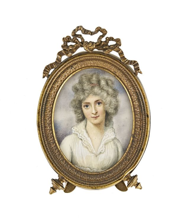 *A Lady, circle of Richard Cosway, 18th century
