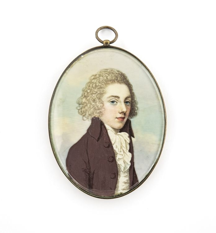 *A young Gentleman, attributed to Frederick Buck, Irish (1771 - 1840)