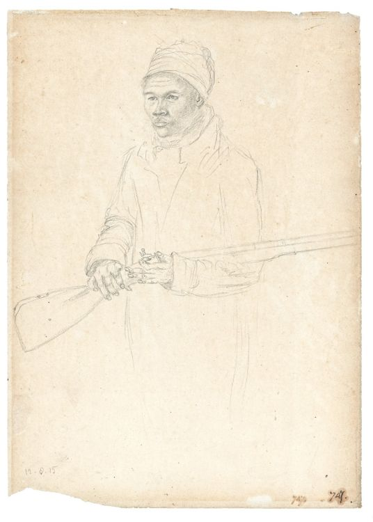 William Burchell; Portrait of Júli