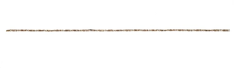 9ct gold fancy-link chain, Birmingham, 1978