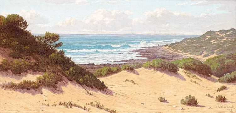 Jan Ernst Abraham Volschenk; The Fringe of the Indian Ocean (Near Stillbay)