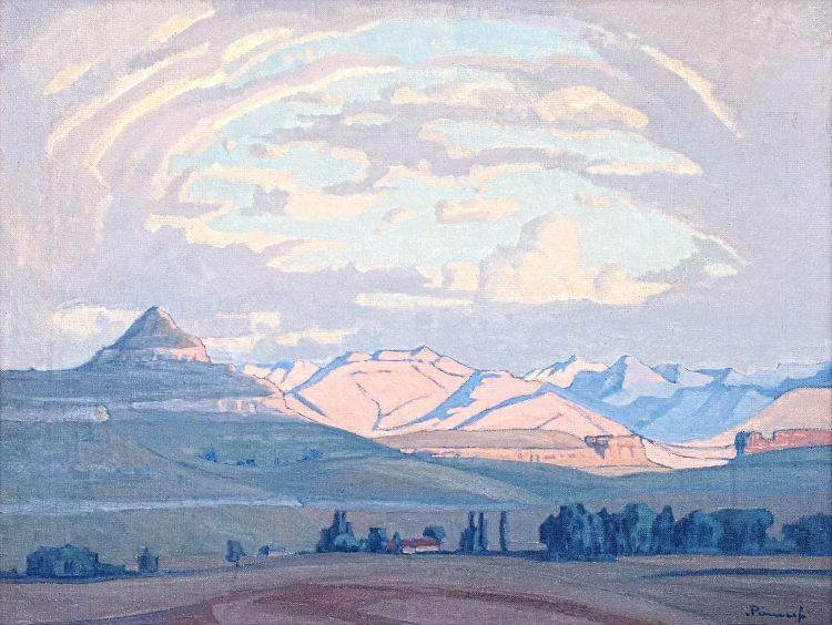Jacob Hendrik Pierneef; Farmlands, Free State
